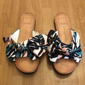 Dolce Vita bow sandals